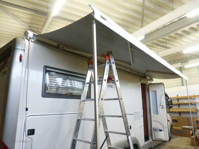 Установка дополнительного оборудования Картаго С-лайн 5,5