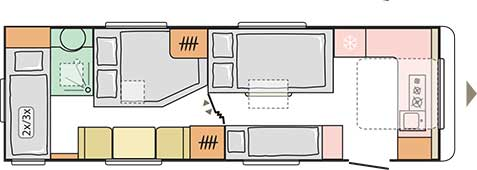Adria Alpina 753 HK