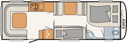 Camper 730 FKR