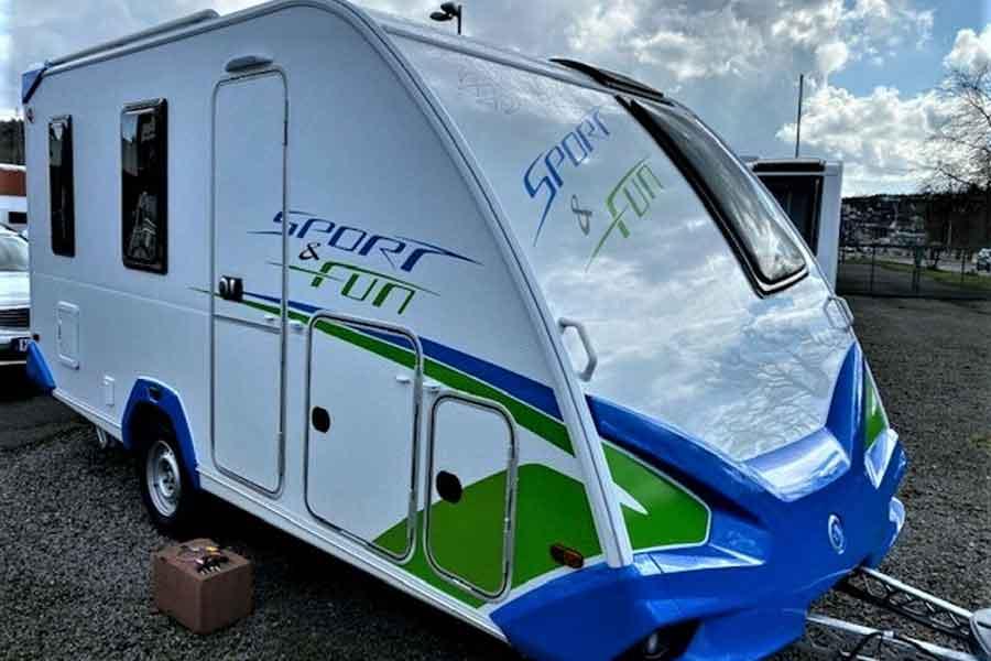 Knaus Sport&Fun 480 QL Blue